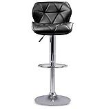 Барный стул Hoker SEVILA с поворотом сиденья 360 градусов и подставкой для ног, фото 3