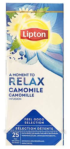 Черный чай пакетированный Lipton Camomile (Ромашка) 25 шт