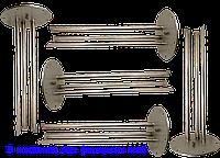 Комплект качественных нержавеющих фланцевых колб для бойлера Горенье (в комплекте 5шт)