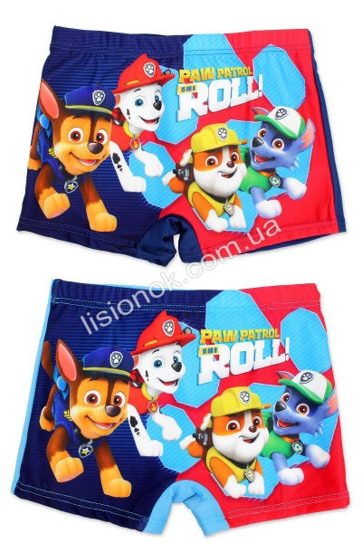 Плавки боксеры (шорты) Щенячий патруль Paw Patrol для мальчика