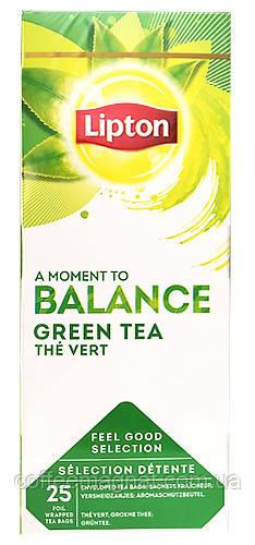 Зеленый чай пакетированный Lipton Green Tea (Зеленый) 25 шт