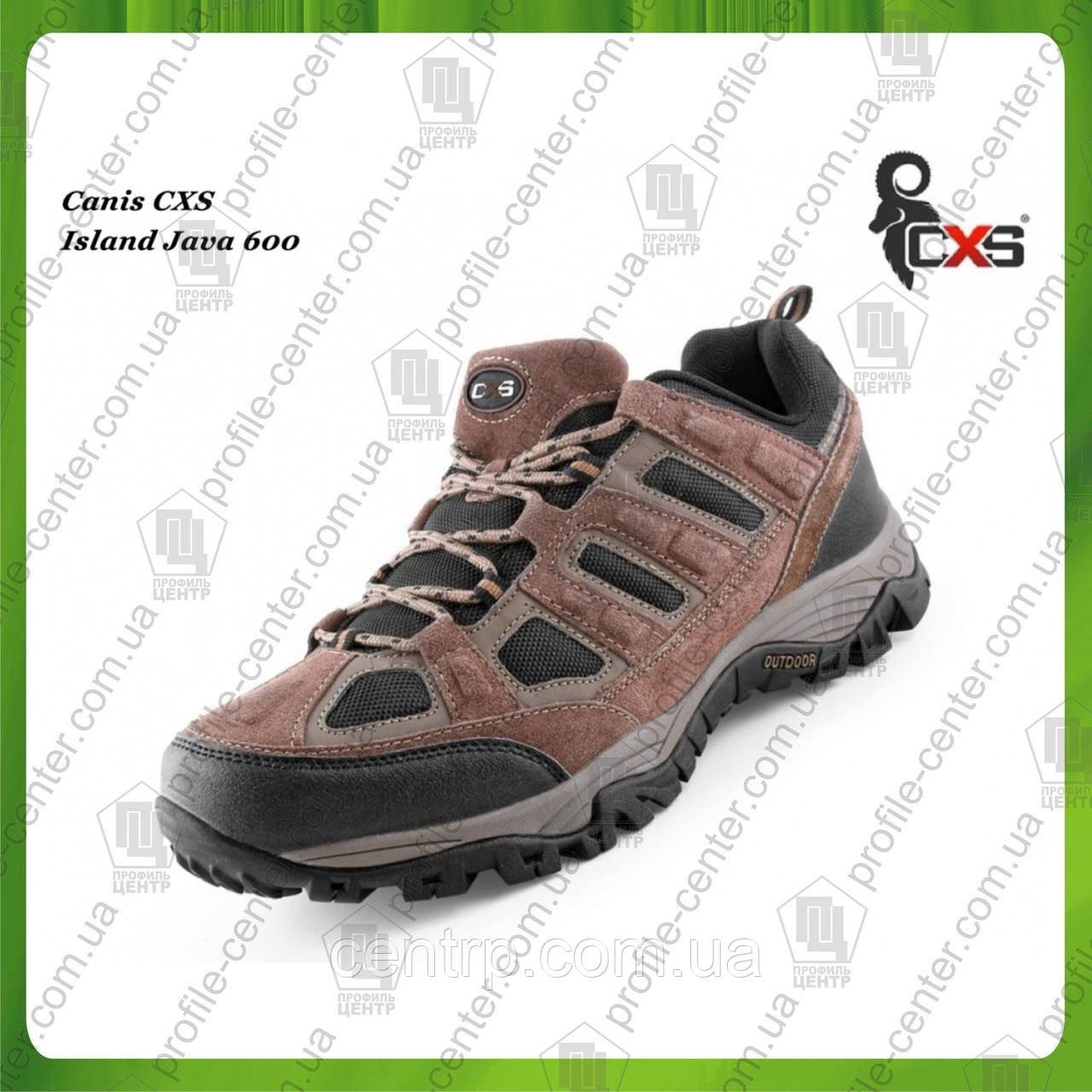 Кроссовки треккинговые CANIS CXS Island JAVA 600 (нат.замша)