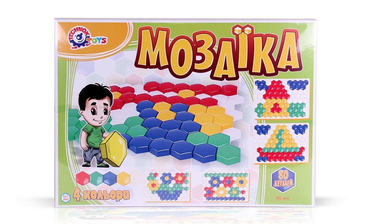 Мозайка Соты 2063 Technok 80 дет