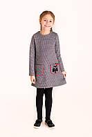Платье детское  Татьяна Филатова модель 101  гусиная лапка