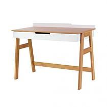Письменный стол Верес Manhattan бело-буковый