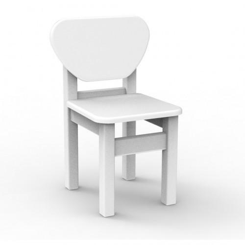 Детский стульчик Верес МДФ белый