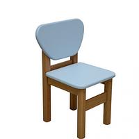 Детский стульчик Верес МДФ голубой