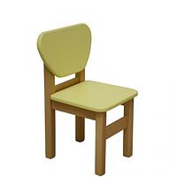 Детский стульчик Верес МДФ желтый
