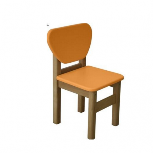 Детский стульчик Верес МДФ оранжевый