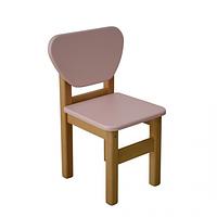 Детский стульчик Верес МДФ розовый