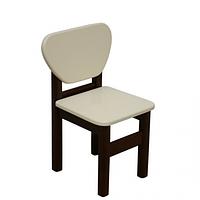 Детский стульчик Верес МДФ слоновая кость/орех