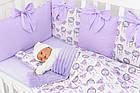Комплект постельного белья Asik Ловцы снов сиреневого цвета (5-331), фото 3