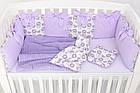 Комплект постельного белья Asik Ловцы снов сиреневого цвета (5-331), фото 6
