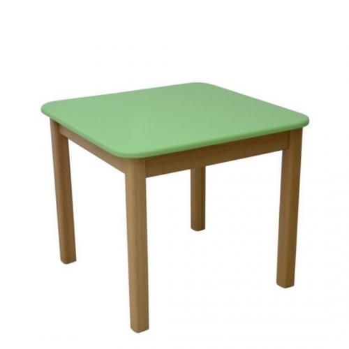 Десткий столик Верес МДФ зеленый