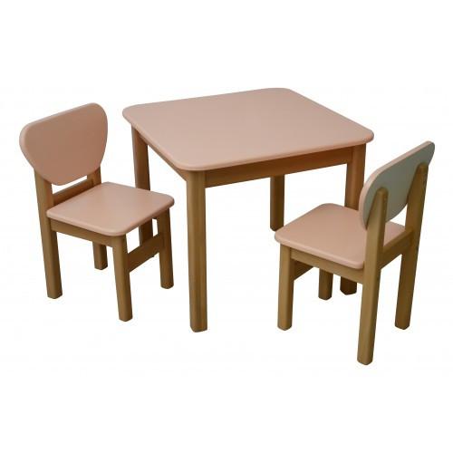 Десткий столик Верес МДФ персик