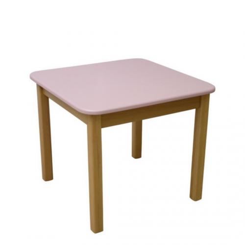 Десткий столик Верес МДФ розовый