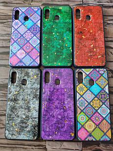 Чехол мраморный для Samsung A30 (6 цветов)