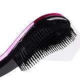 Расческа для волос с зеркальной поверхностью Electroplating, 5 видов, фото 2