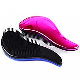 Расческа для волос с зеркальной поверхностью Electroplating, 5 видов, фото 4