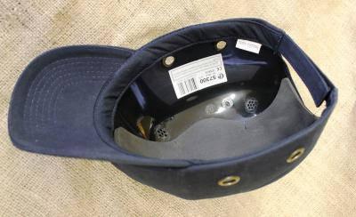 Каска - бейсболка (каскетка) защитная Duiker темно-синяя, фото 2