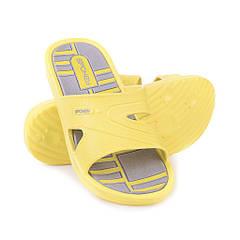 Шлепанцы пляжные Spokey Intro 41 р Серые с желтым (s0494)