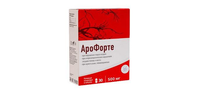 Арофорте - капсулы для лечения гипертонии