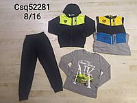 Трикотажный костюм 3 в 1 для мальчика, Seagull, 8-16 лет,  № CSQ-52281, фото 1