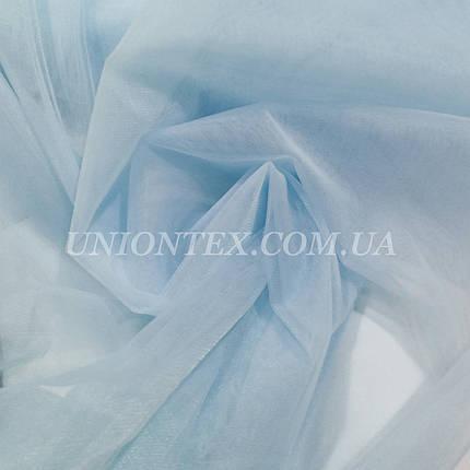 Евросетка (фатин мягкий, Hayal) голубой, фото 2
