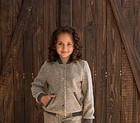 Джемпер  детский  Татьяна Филатова модель 189  беж