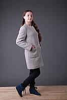 Пальто  женское  Татьяна Филатова  модель 173  каракуль серое 158