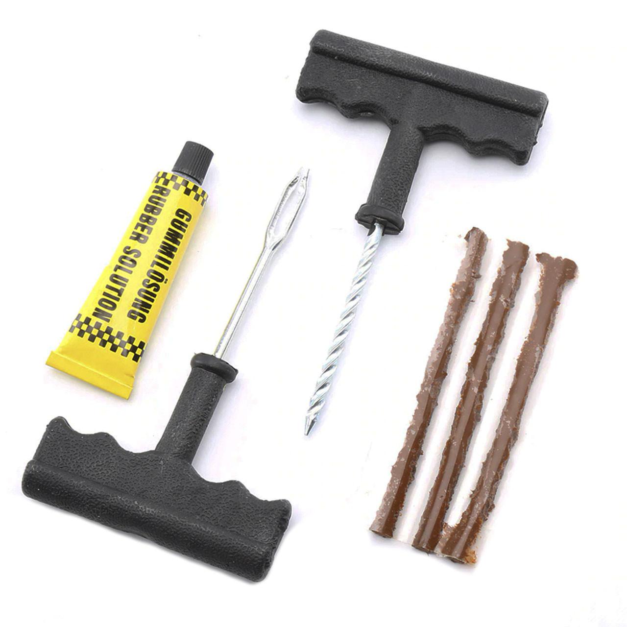 ➢Ремкомплект Lesko для бескамерных покрышек и ремонта шин ремонтный набор для автомобилиста машин