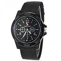 8424dab3d06e ✸Мужские часы Swiss Army Black кварцевые наручные для мужчин армейские  стильный аксессуар