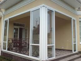 Слайдинговые алюминиевые двери
