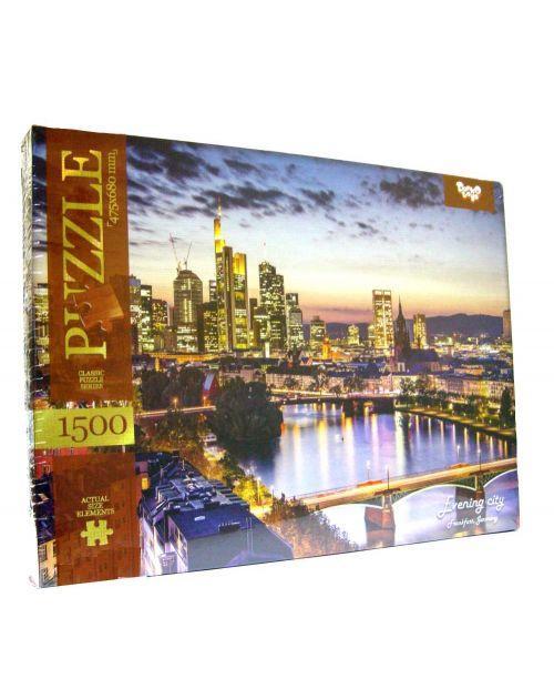 Пазлы Danko Toys Evening city 1500 элементов (С1500-03-04)