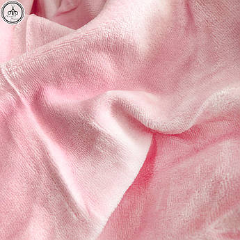 Велюр х/б светло-розовый, ширина 180 см
