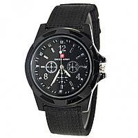 ✖Армейские часы Swiss Army Black мужские наручные часы для мужчин кварцевые стильные повседневный аксессуар