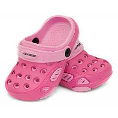 Сабо детские пляжные Aqua Speed Lido 18 Розовые (aqs116)