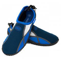 Аквашузы Aqua Speed 17А 40 Темно-синий с белым (aqs174)