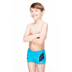 Плавки для мальчика Aqua Speed Andy 128 Голубые (aqs028)