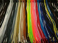 Шнурки для взуття круглі кольорові 1м