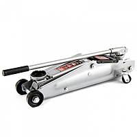 Домкрат гидравлический подкатной, 3 т, h подъема 130-410 мм, поворотная ручка // MTX 5103459