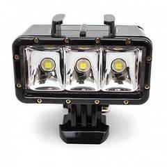 Подводный свет Shoot для GoPro - 3 LED