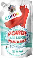 """Гель для стирки """"Power De Luxe"""" для цветных вещей 2 л (50 стирок)"""