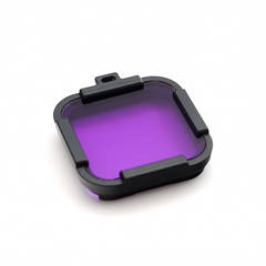 AC Polar фиолетовый подводный фильтр для GoPro HERO Session без корпуса