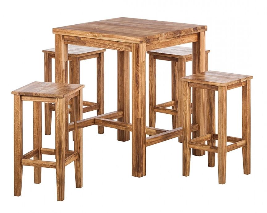 Стол барный и стулья 003