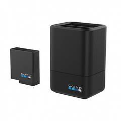 Зарядное устройство GoPro Dual Battery Charger с батареей для GoPro HERO7, HERO6 и HERO5 Black