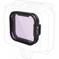 Фильтр GoPro Magenta Dive Filter для GoPro HERO7, HERO6 и HERO5 Black Super Suit