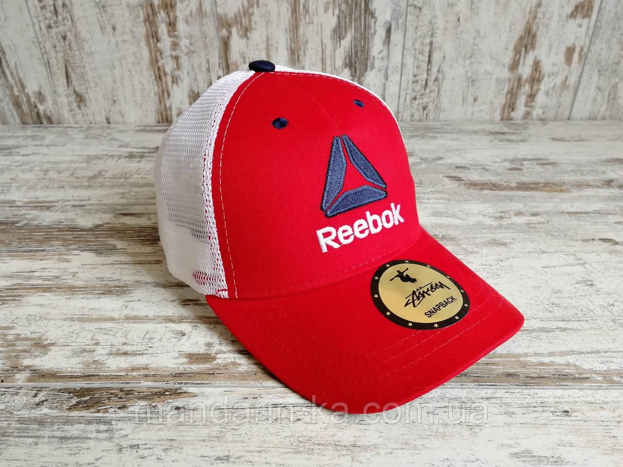 Кепка бейсболка блайзер снепбек Reebok Рибок красная топ качество цвета в ассортименте (реплика)