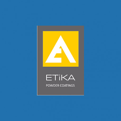 """Порошковая полиэфирная краска RAL 5015 глянец  """"ETIKA""""  (Турция)"""