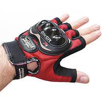 Перчатки беспалые тактические спортивные Biker. , фото 1